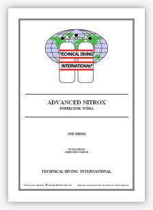 Podręcznik ADVANCED  NITROX